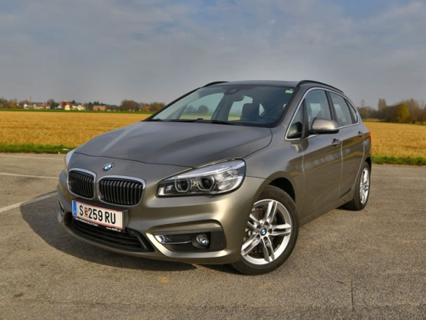 bmw 218d active tourer testbericht auto. Black Bedroom Furniture Sets. Home Design Ideas