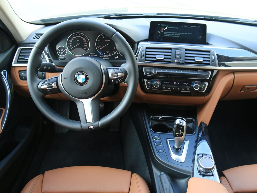 bmw 318d touring im test auto. Black Bedroom Furniture Sets. Home Design Ideas