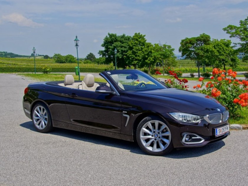 bmw 420d cabrio testbericht auto. Black Bedroom Furniture Sets. Home Design Ideas