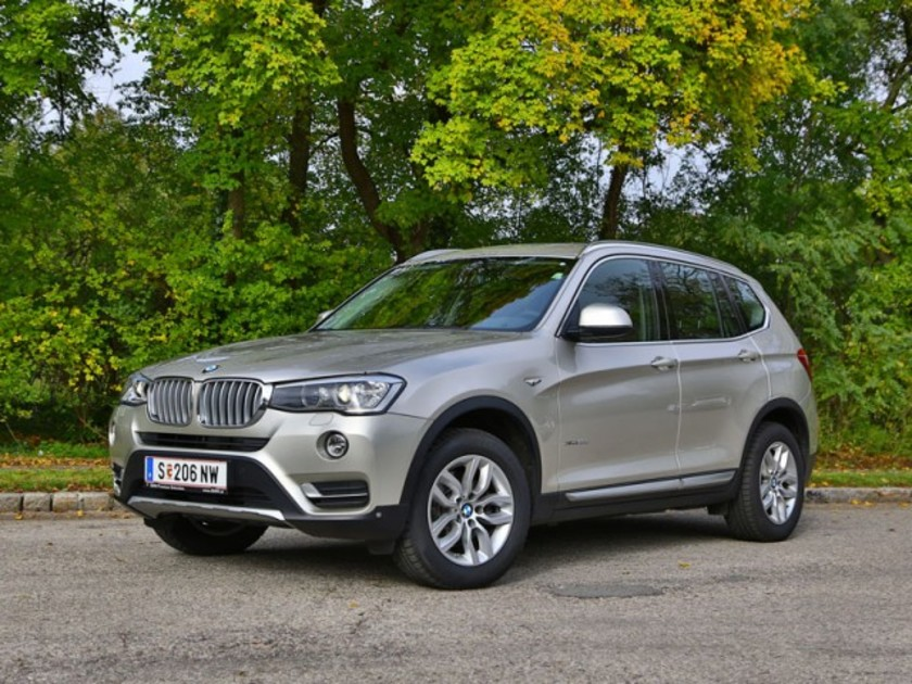 bmw x3 xdrive 20d testbericht auto. Black Bedroom Furniture Sets. Home Design Ideas