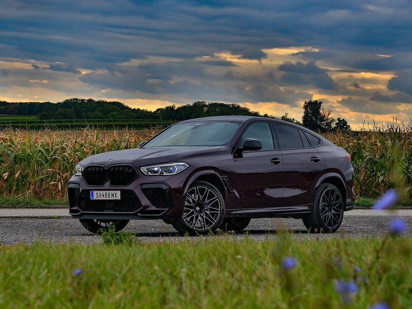 BMW X6 M Competition Frontansicht