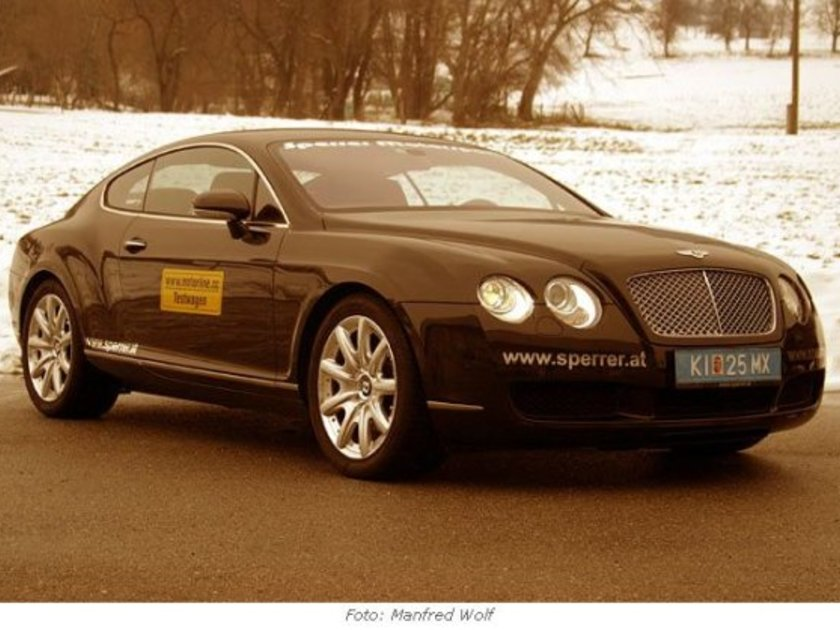 T bentley continental test