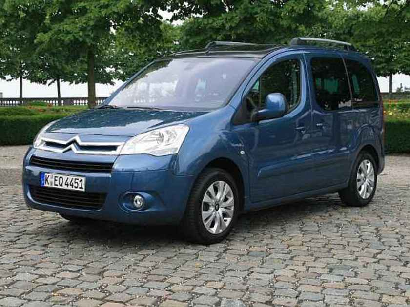 Citroen berlingo test vorne