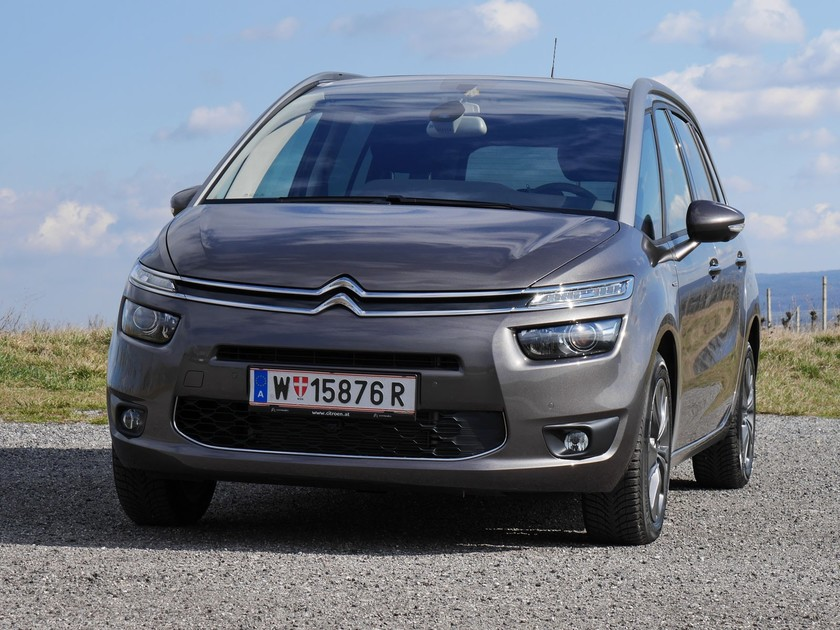 citroen grand c4 picasso testbericht auto. Black Bedroom Furniture Sets. Home Design Ideas