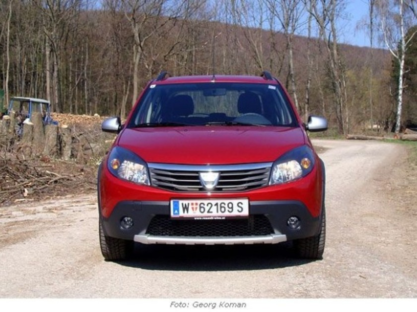 dacia sandero stepway 1 6 mpi testbericht auto. Black Bedroom Furniture Sets. Home Design Ideas