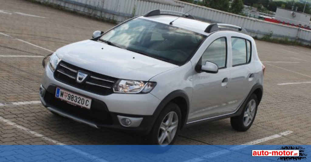 dacia sandero stepway im test auto. Black Bedroom Furniture Sets. Home Design Ideas