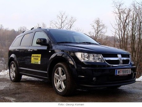 Dodge Journey R/T 2,0 CRD - im Test