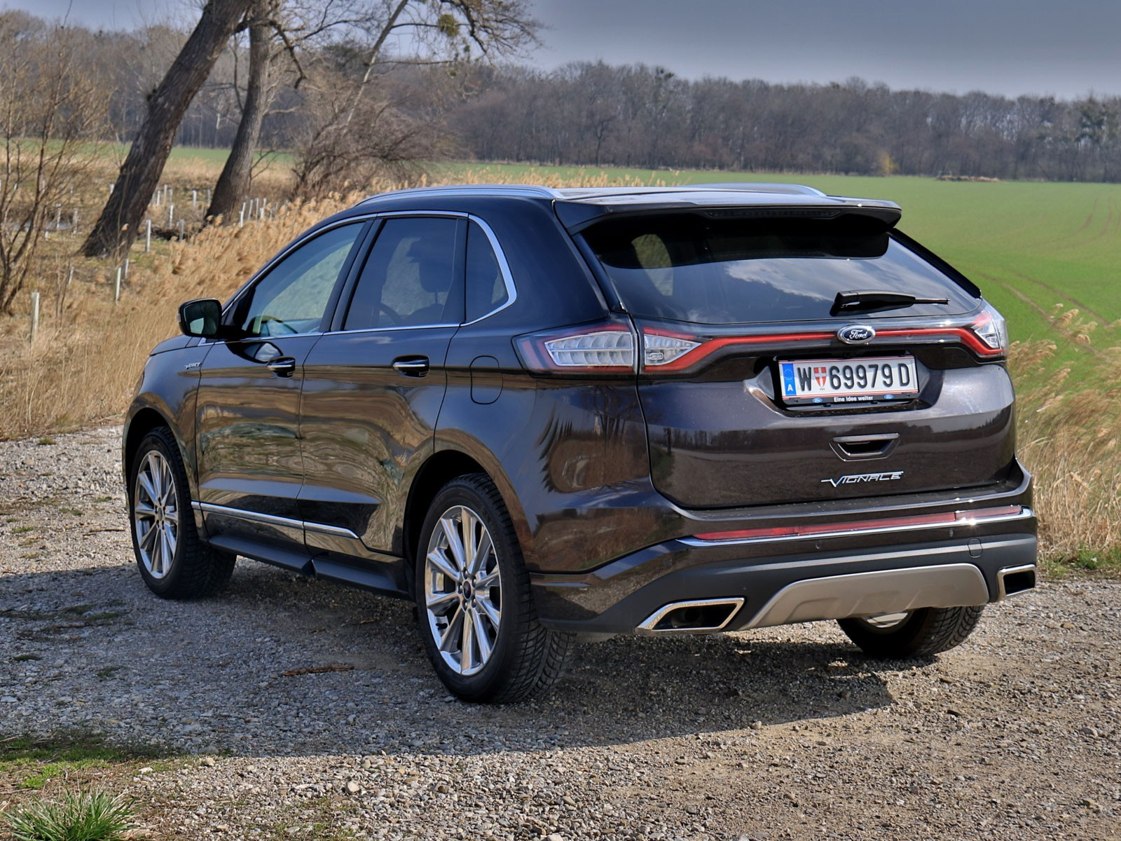 foto ford edge vignale 2 0 tdci 210 ps at awd testbericht vom artikel ford edge vignale