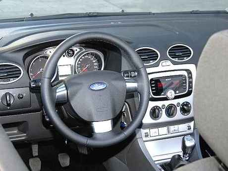 Ford focus cc test innen
