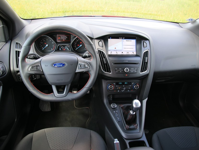 Ford Focus St Line Testbericht Auto Motor At