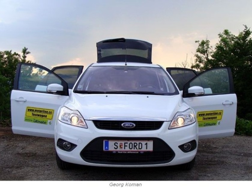 Ford Focus 1,6 TDCi ECOnetic - im Test