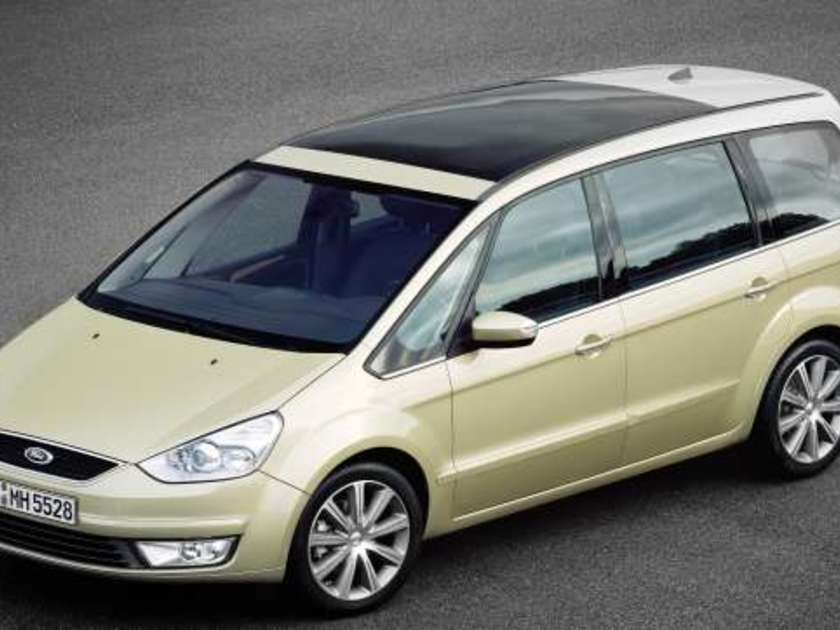 Ford galaxy test vorne