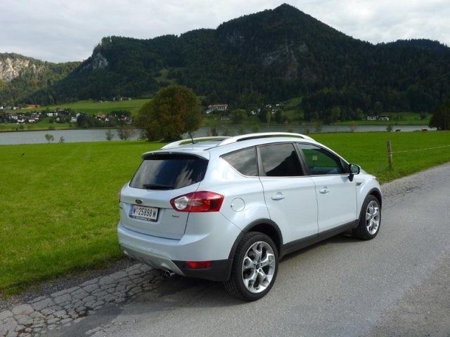 ford kuga 2 0 tdci im test auto. Black Bedroom Furniture Sets. Home Design Ideas