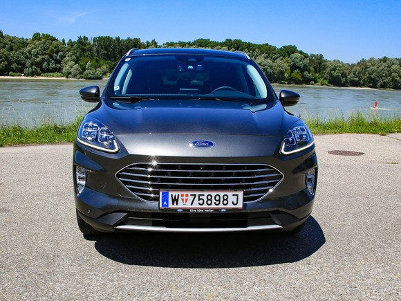 Frontansicht Ford Kuga 2,0 EcoBlue mHEV