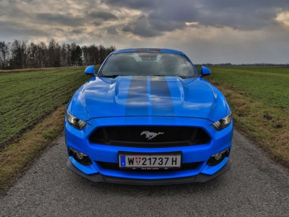 Ford Mustang 5,0 Liter V8 mit 422 PS - Testbericht