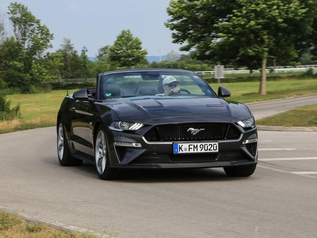 Ford mustang 5 0 v8 at cabrio testbericht 008