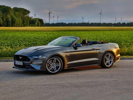 Ford mustang 5 0 v8 at cabrio testbericht 012