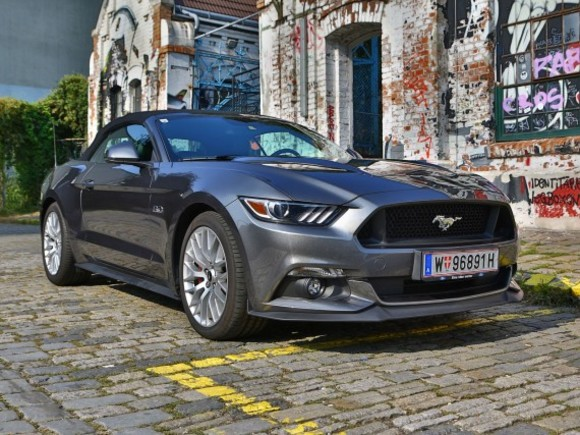 Ford Mustang V8 AT Convertible – Testbericht