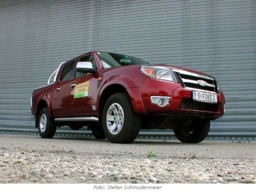 <b>Ford Ranger 3.0 TDCi Limited Aut. - im Test</b>