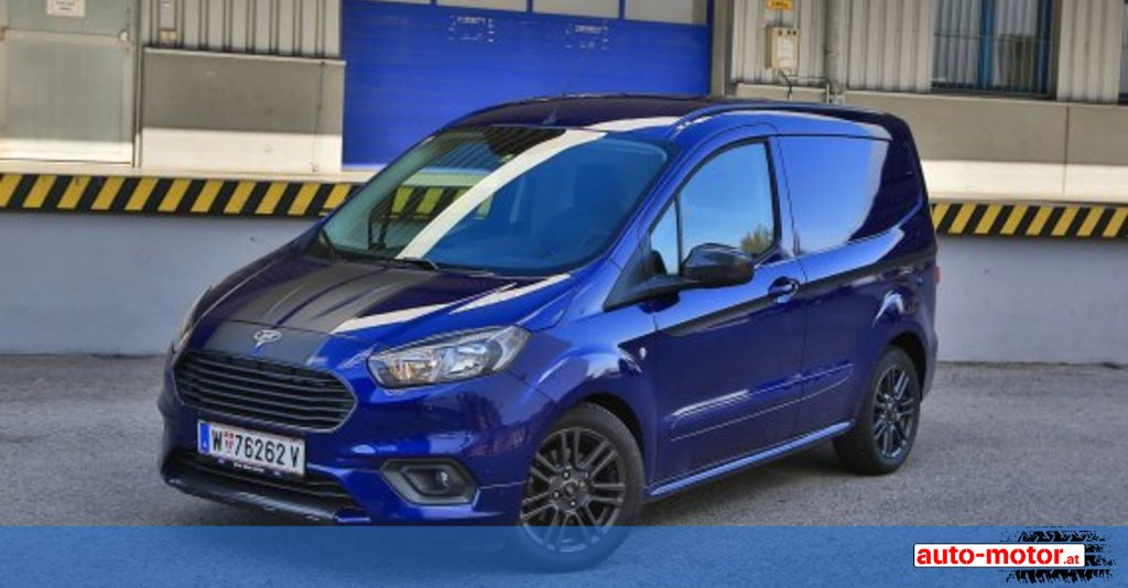Testbericht Ford Transit Courier Sport Auto Motor At