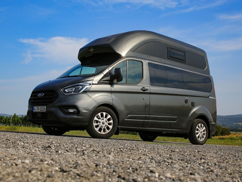 Ford Transit Custom Nugget Plus Frontansicht