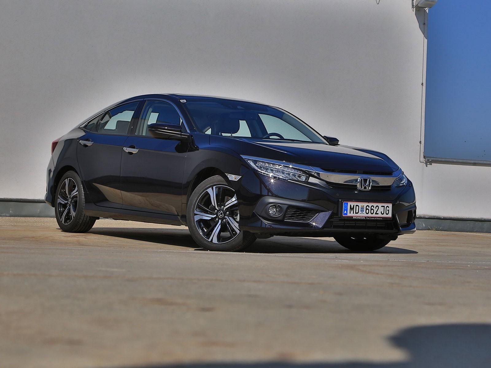 Foto Honda Civic Limousine 1 5 Vtec Turbo Executive At Testbericht