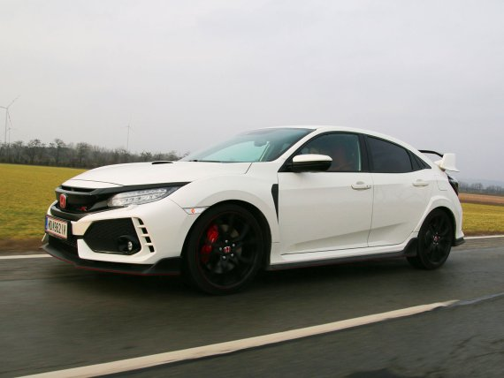 Honda Civic Type R; Bildquelle: auto-motor.at/Rainer Lustig