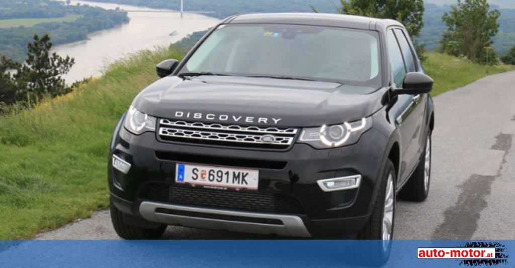 land rover discovery sport testbericht auto. Black Bedroom Furniture Sets. Home Design Ideas
