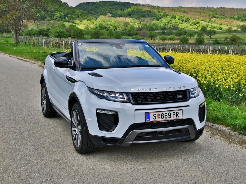 range rover evoque cabrio testbericht auto. Black Bedroom Furniture Sets. Home Design Ideas