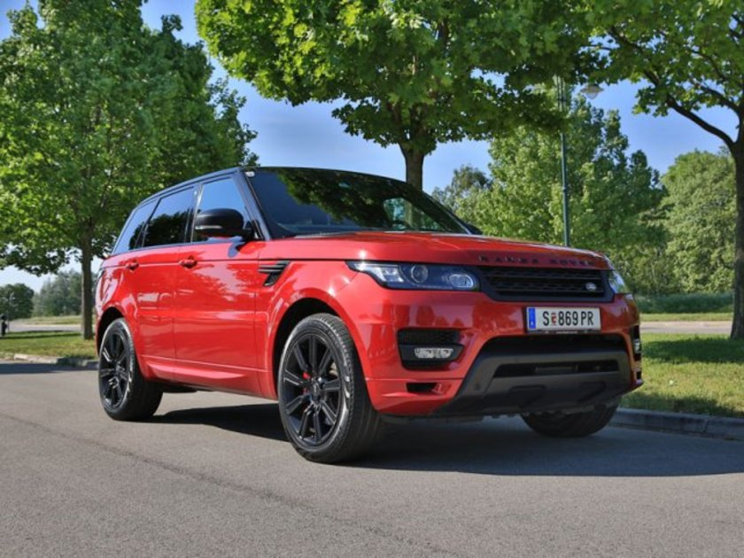 range rover sport hybrid testbericht auto. Black Bedroom Furniture Sets. Home Design Ideas