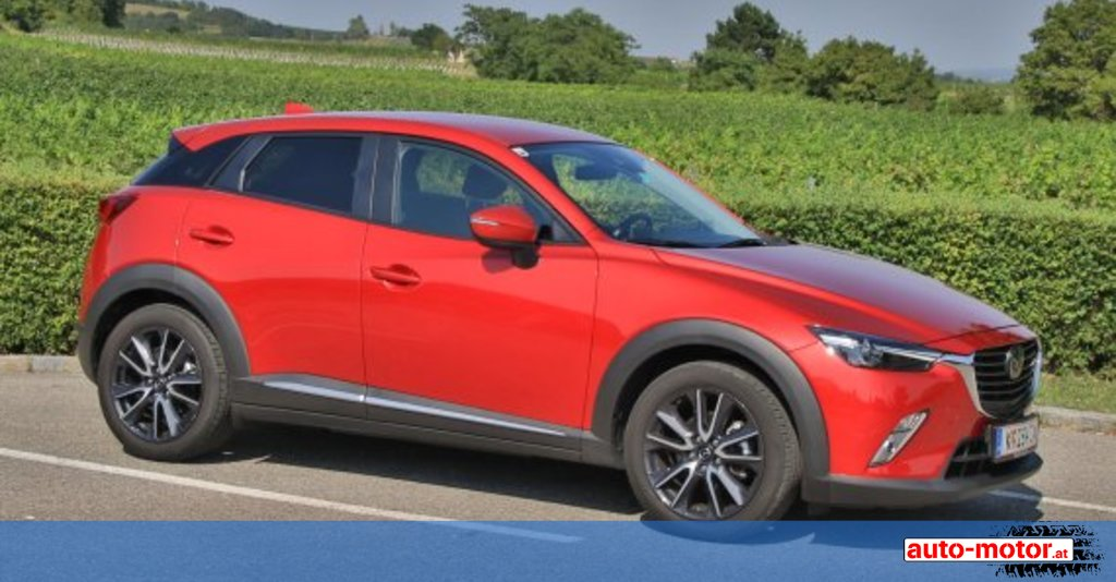 mazda cx 3 mit 105 ps diesel testbericht auto. Black Bedroom Furniture Sets. Home Design Ideas