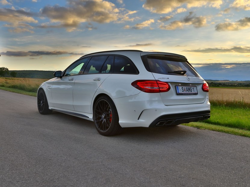 Testbericht Mercedes Amg C 63 S T Modell Auto Motor At