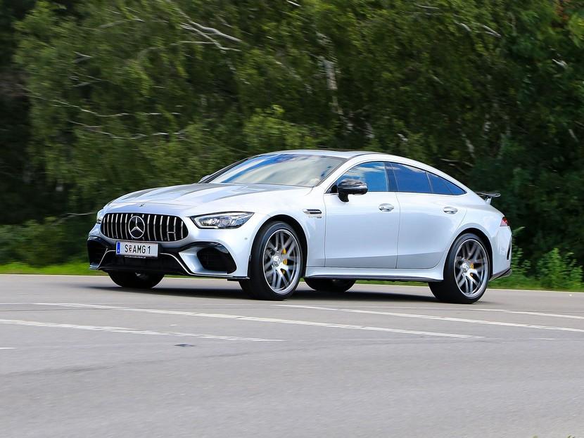 Testbericht Mercedes Amg Gt 63 S 4 Door Auto Motor At