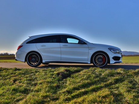 Mercedes cla 45 amg 4matic shooting brake testbericht 003