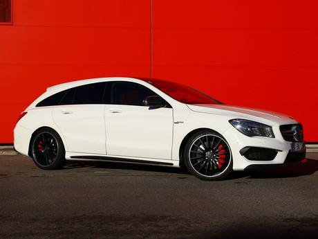 Mercedes cla 45 amg 4matic shooting brake testbericht 008