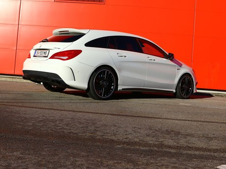 Mercedes cla 45 amg 4matic shooting brake testbericht 009