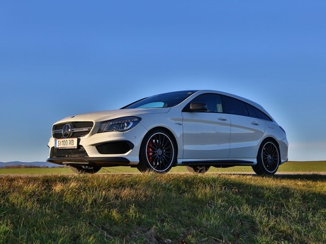 Mercedes cla 45 amg 4matic shooting brake testbericht 010