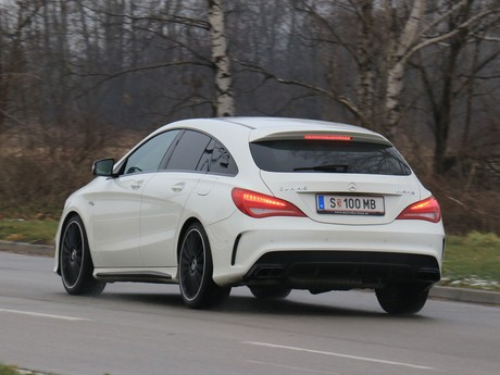 Mercedes cla 45 amg 4matic shooting brake testbericht 013