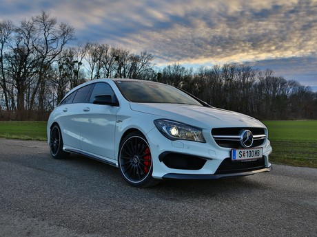 Mercedes cla 45 amg 4matic shooting brake testbericht 020