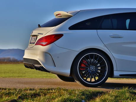 Mercedes cla 45 amg 4matic shooting brake testbericht 021