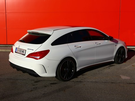 Mercedes cla 45 amg 4matic shooting brake testbericht 023