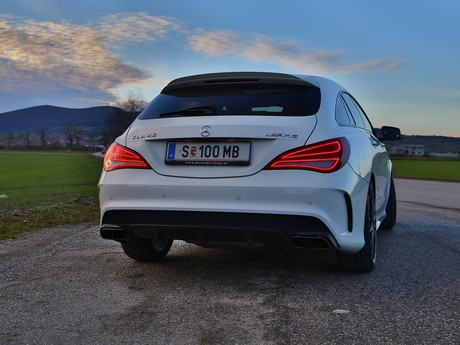 Mercedes cla 45 amg 4matic shooting brake testbericht 032