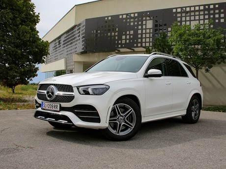 Mercedes GLE 350 d 4Matic Frontansicht