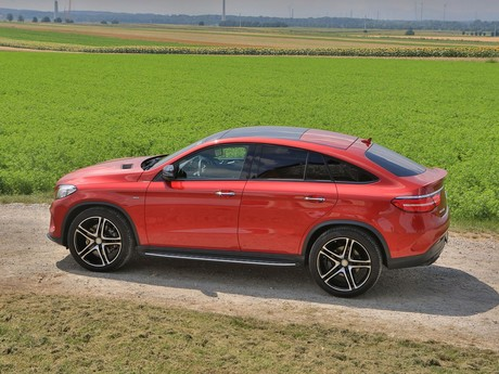 Mercedes gle 450 amg 4matic coupe testbericht 003