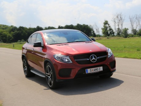 Mercedes gle 450 amg 4matic coupe testbericht 010