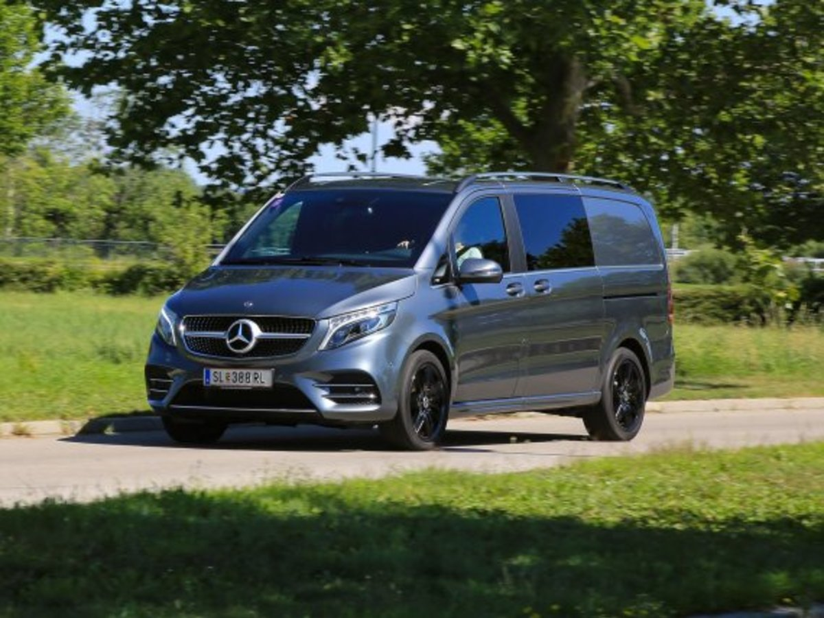 Mercedes V 300 d 4Matic Business Van – Testbericht