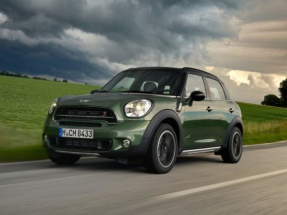 Mini Countryman beim US-Crashtest