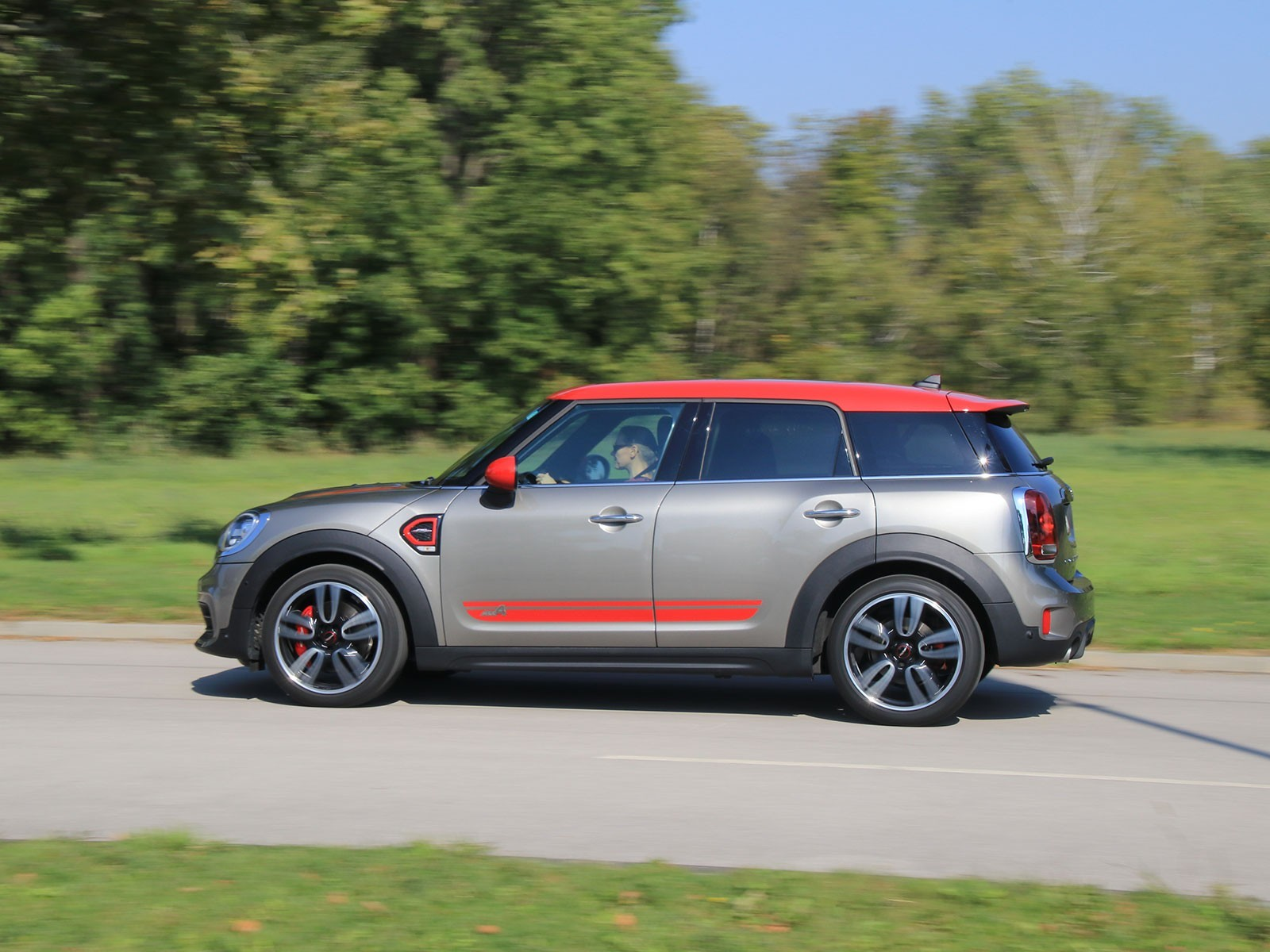 Mini jcw all4 countryman kurztest 009
