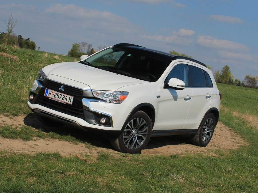 Mitsubishi asx 2 2 di d at 4wd instyle testbericht 026