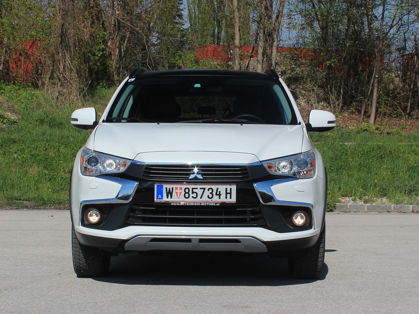 Mitsubishi asx 2 2 di d at 4wd instyle testbericht 031